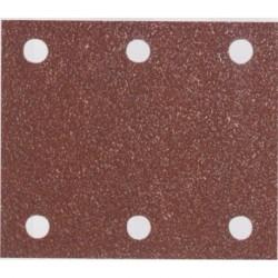 Makita P-42438 brusný papír 114x102mm, G80, suchý zip, 50ks