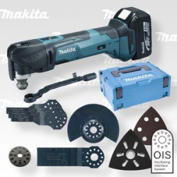 Makita DTM51RTJX4 aku multitool 18V s příslušenstvím