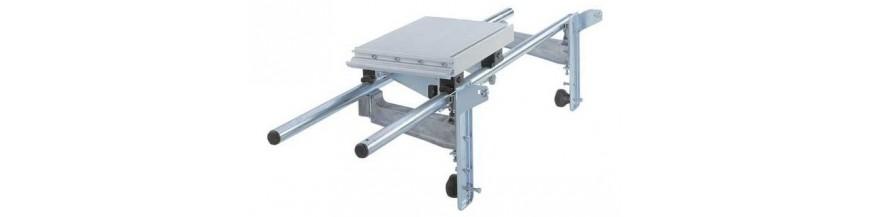 příslušenství pro stolní pily