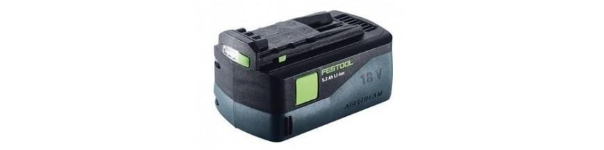 akumulátory a nabíječky Festool
