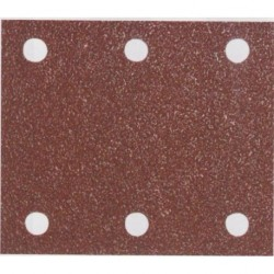 Makita P-33102 brusný papír 114x102mm, G80, suchý zip, 10ks