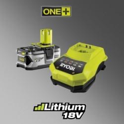 Ryobi RBC18 L40 akumulátor a nabíječka