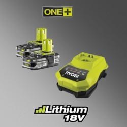 Ryobi RBC18 LL15 pár akumulátorů a nabíječka