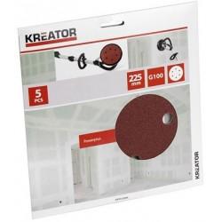 Kreator KRT232004 5 brusných papírů na sádrokarton
